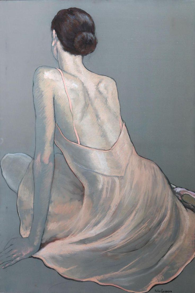 Katya Gridneva - Study In Pink | John Noott Galleries