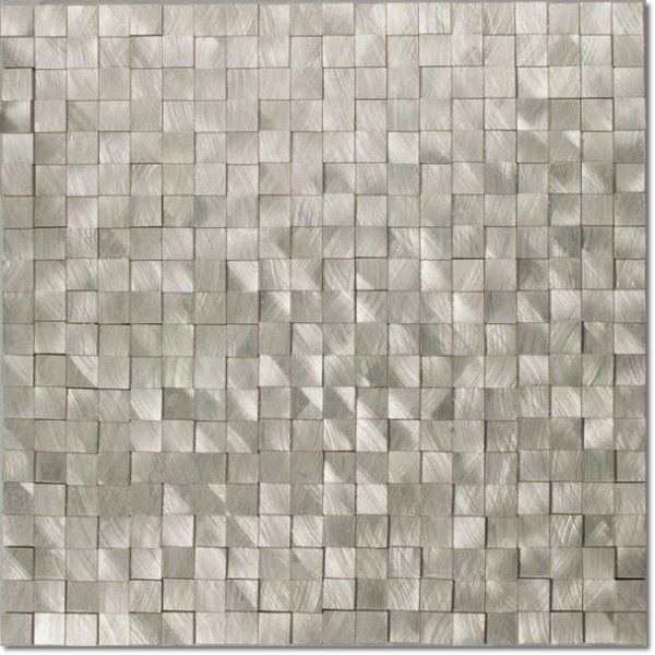 Dell'Arte - mozaiki dekoracyjne Aluminium 3D 15 (plaster 30x30)