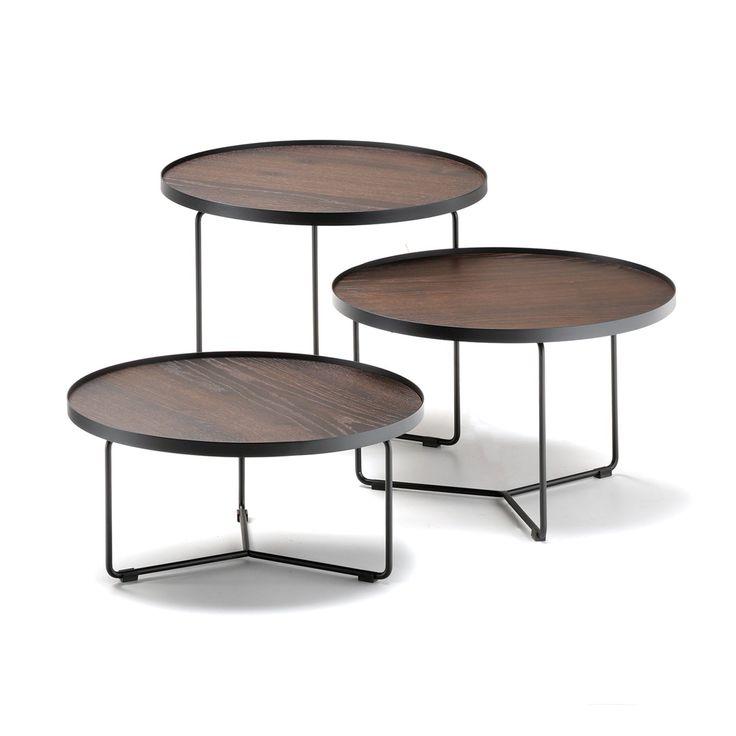 Tavolini da salotto di design rotondi Billy di Cattelan, nei modelli da cm 60    655.40 €