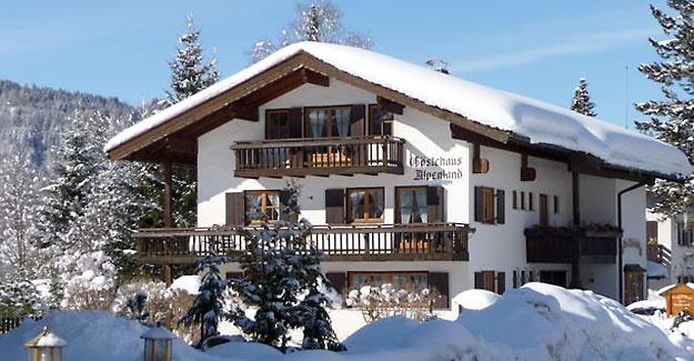 Ferienwohnung Oberstdorf: Haus Alpenland mit Alpenpanorama