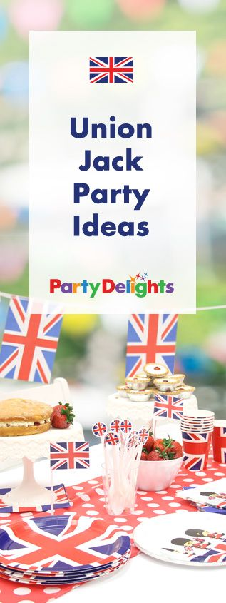 Whether you're celebrating the Queen's 90th birthday, throwing a Wimbledon party or looking for inspiration for a Best of British party theme, browse our Union Jack party ideas for inspiration! Find Union Jack decorations, British party food ideas and more.