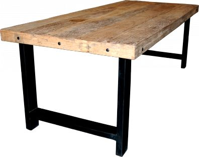 Fresnillo bord i trä m metall - Matbord - Bord - Kategorier