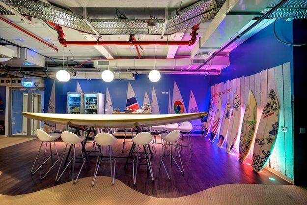 Googlen uusi toimisto Israelissa on todellinen paratiisi – Katso kuvat!   Vivas