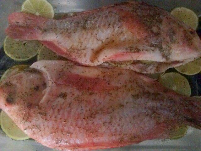 #Pescado al horno delicioso!!!