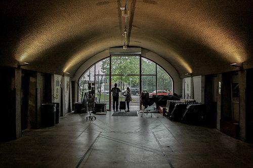 Entrance Mini Mall Hofbogen Rotterdam #Hofpleinviaduct #Hofpleinlijn #Hofbogen #Herbestemming #Rotterdam #010 #Mini #Mall #Holland #Dutch #Station #Train #Railroad #NS #Architecture #Architectuur #trein #spoor #Netherlands #Nederlandse #Spoorwegen