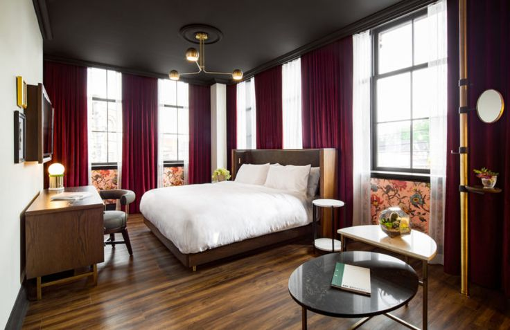 Design firm DesignAgency transformed the Broadview Hotel in Toronto, Canada, from soap factory into a 58-room boutique hotel.