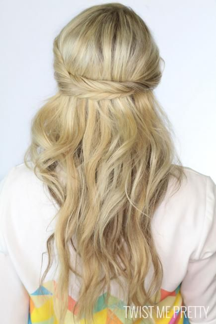28 best hair images on pinterest chignons clothes and dream wedding if you have long fine hair that falls flat in an updo wearing your pmusecretfo Choice Image