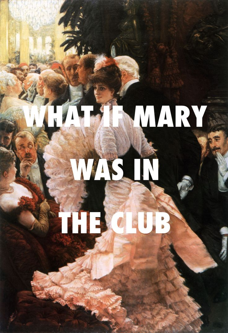 When she met Joseph around hella thugs The political lady (1885), James Tissot / Wolves, Kanye West ft. Frank Ocean