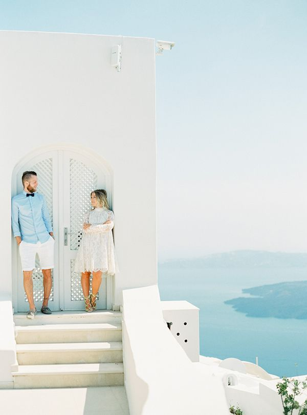 Santorini honeymoon shoot - Love4Wed Photo by Peaches and Mint