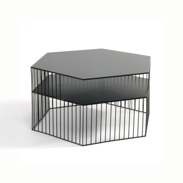 Table Basse Metal Filaire Bangor Noir La Redoute Interieurs La Redoute Table Basse Table Basse Metal Table Basse Filaire