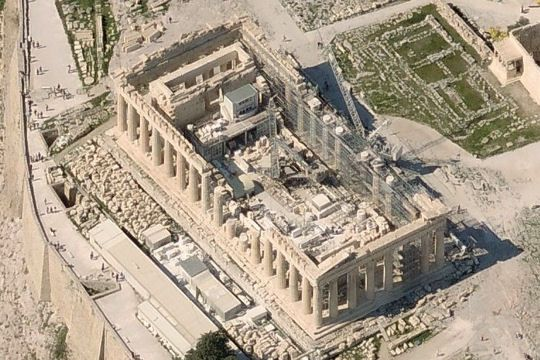 merveille de l'Unesco : Acropole d'Athènes