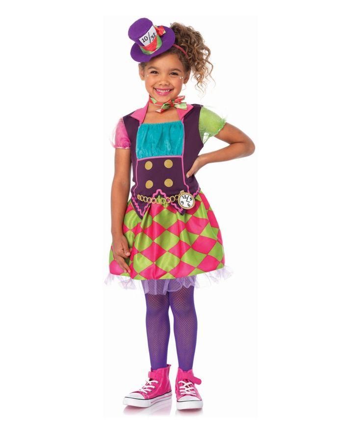 Mad Hatter Girls Costume - Girls Costume