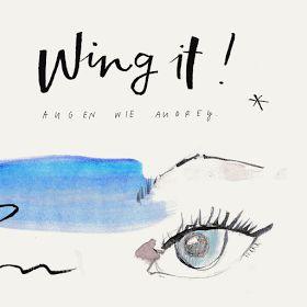 Wing it like Audrey ...