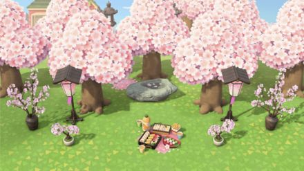 How To Get Cherry Blossom Trees Acnh Bwin Cute766