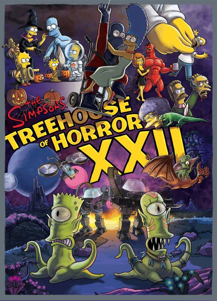 Treehouse of Horror XXII