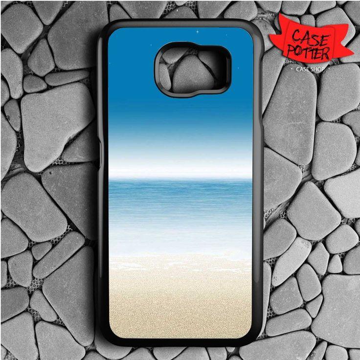 Ocean Nature Samsung Galaxy S6 Black Case