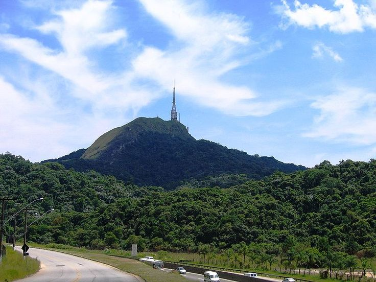 Jaraguá Peak is the highest point in the city, at 1,135 metres (3,724 ft)
