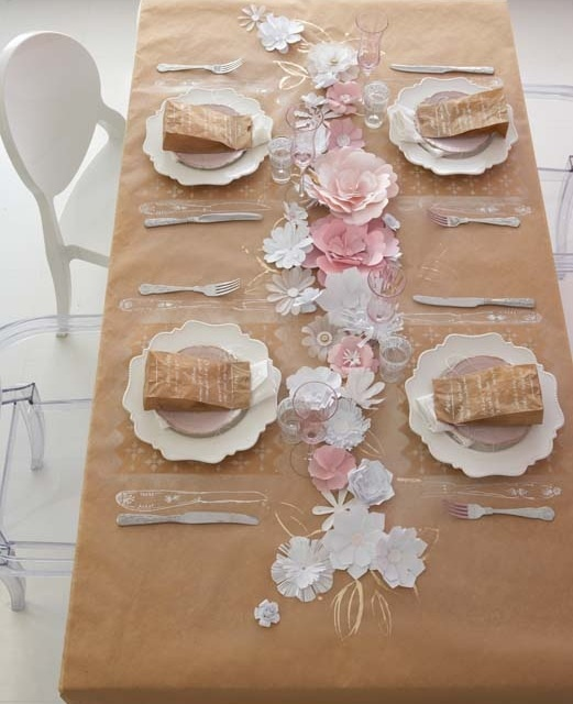 Such a sweet, elegant (and cost effective) idea for a little girl or tween birthday party!
