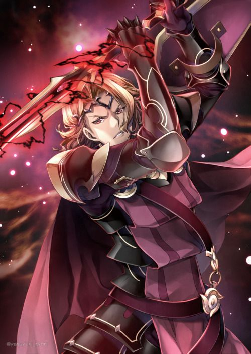 Fire Emblem If/Fates - Xander - goodness gracious... I can't tell you enough how often I want to stare at his avatar all day