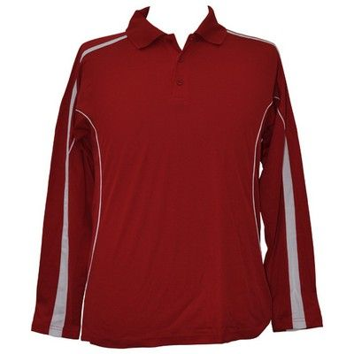 TrueDry Ladies Long Sleeve Polo Min 25 - 160gsm TrueDry mesh knitted, 60%Cotton, 40%CoolDry Polyester. #PoloShirts  #PromotionalProducts  #PromotionalPoloShirt  #CooldryPoloShirts #LongSleevePolo #LadiesLongSleevePoloShirt