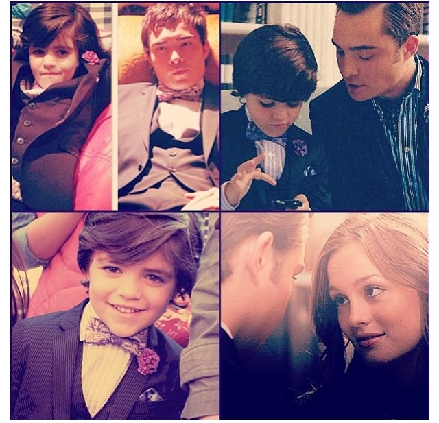 Blair + Chuck + Baby Bass = obviously the most beautiful family ever