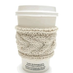 coffee cup holder. @Kathi Huebner I bet you could teach me how to do this!