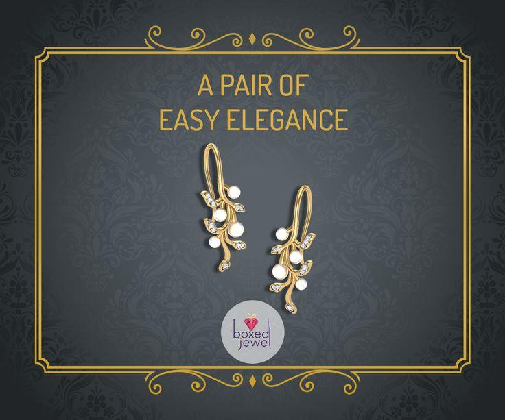 Adorn the pearls for an easy evening date or a wedding saree! Gorgeous is what it'll make you look!   #Earrings  #Jhumkas  #Gold  #Jewelry