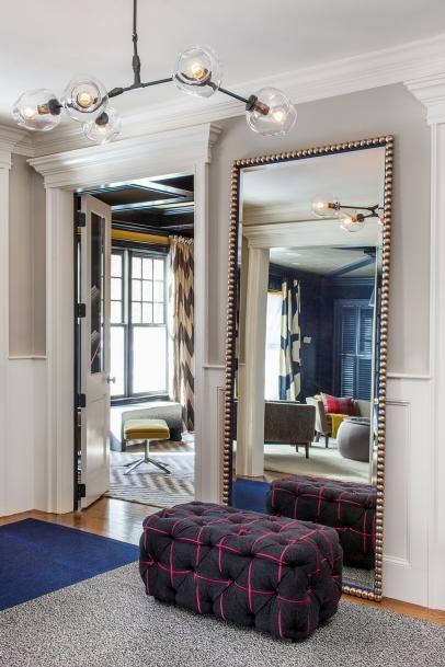 Foyer Mirror Newspaper : Best foyer mirror ideas on pinterest