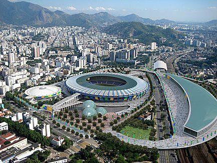 Maracanã-Stadion und Umgebung Daten Ort Flagge von BrazilBrazil Rio de Janeiro, Brasilien Architekt Raphael Galvão Pedro Bastos... Mehr anzeigen — hier: Rio de Janeiro.