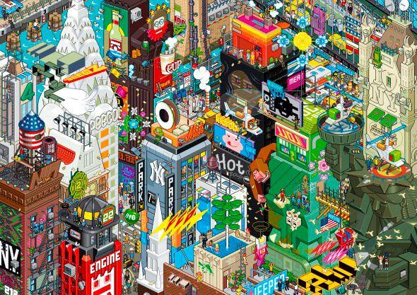 Eboy Pixel Art #PixelArt
