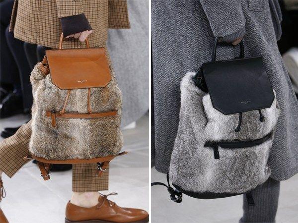 Меховые рюкзаки Майкл Корс осень-зима 2016-2017