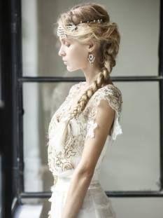 Bride's hair...nice!