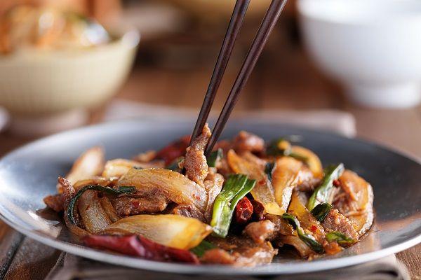 WL Chinese beef stir-fry
