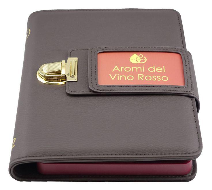 Kit Aromi del Vino Rosso - 12 Aromi: 1.lampone, 2.ribes nero, 3.fragola, 4.mora, 5.ciliegia, 6.prugna, 7.violetta, 8.peperone, 9.liquirizia, 10.pepe, 11.cioccolato, 12.tartufo