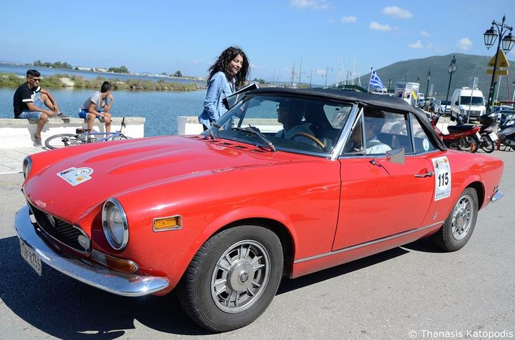 Fiat 124 Spider. 1972.