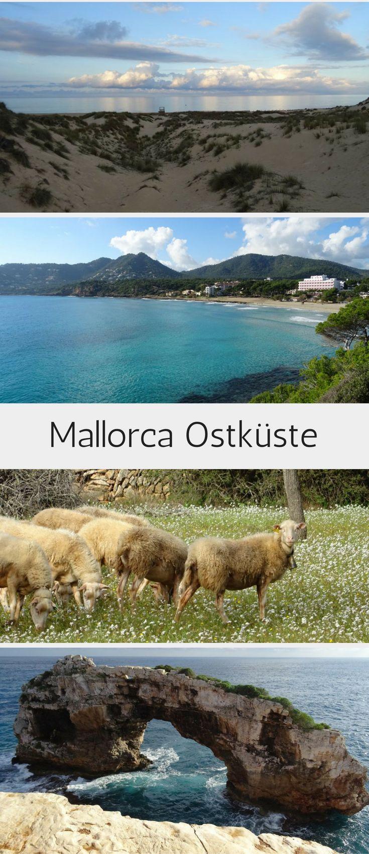 Mallorca im Winter: Tipps und Sehenswürdigkeiten für Mallorcas Ostküste! Wandern, Burgen besichtigen, Strände, Dünen und idyllische Buchten.