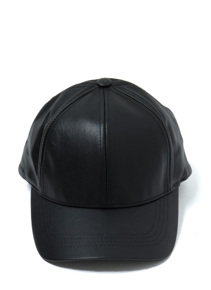 Leather Lady Baseball Cap BLACK - GoJane.com