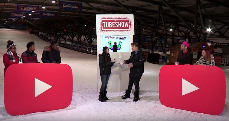 Decor The Tubeshow, a populair youtube channel, produced by Endemol Shine