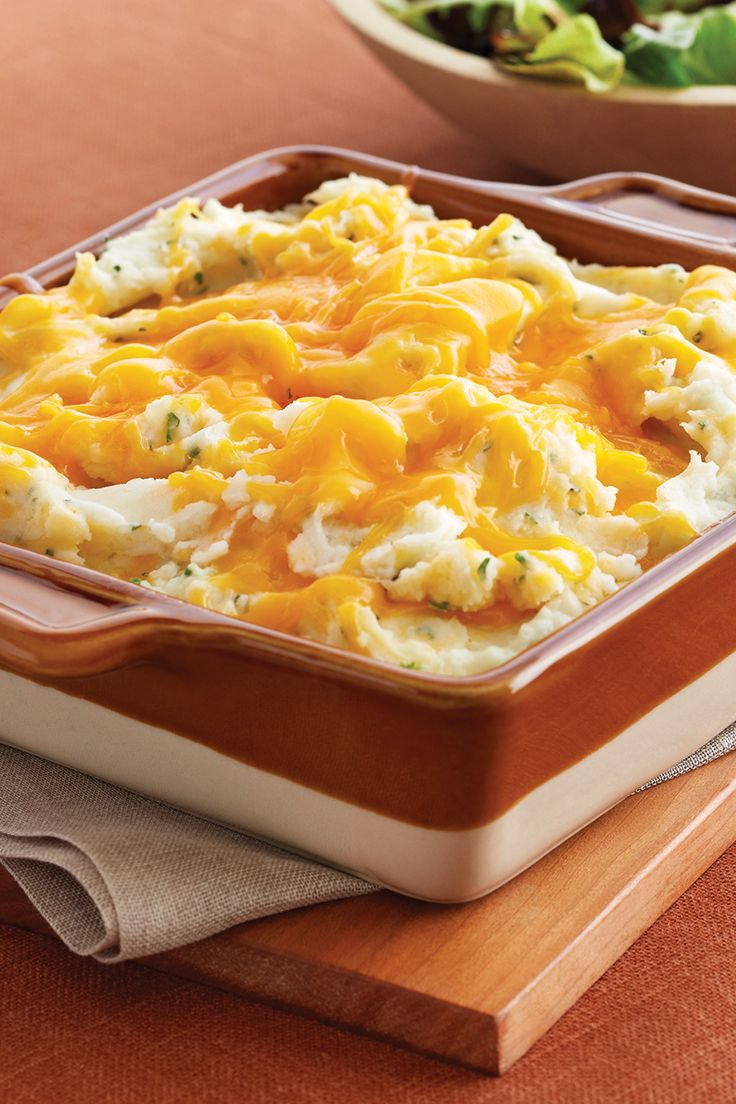 Low Fat Mashed Potato Casserole Recipe | Safeway - Reduced fat Lucerne ...