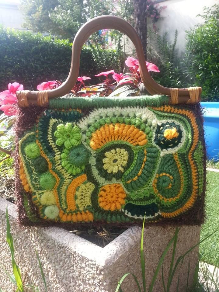 freeform crochet by lubna mohacht