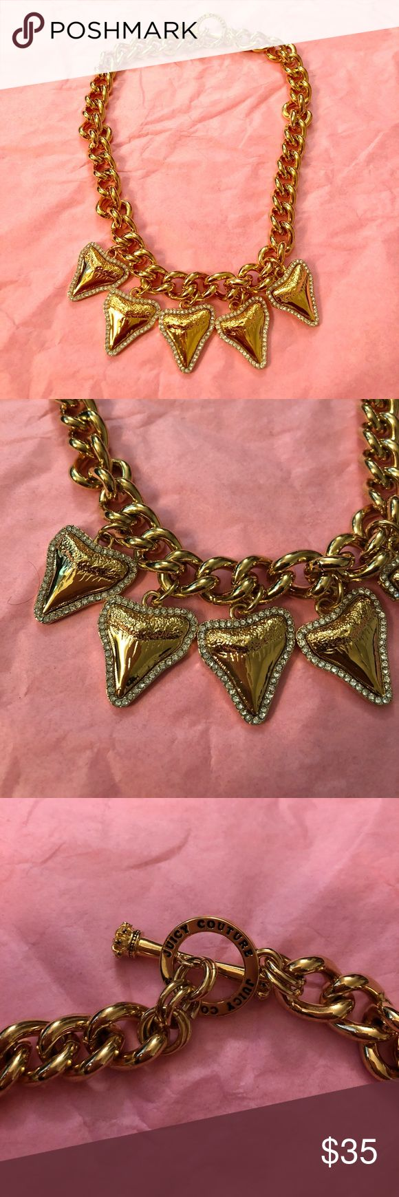 Juicy Couture necklace Never been worn. Gold Juicy Couture Jewelry Necklaces