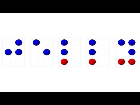 Learning Braille Lesson 1 A And B - YouTube
