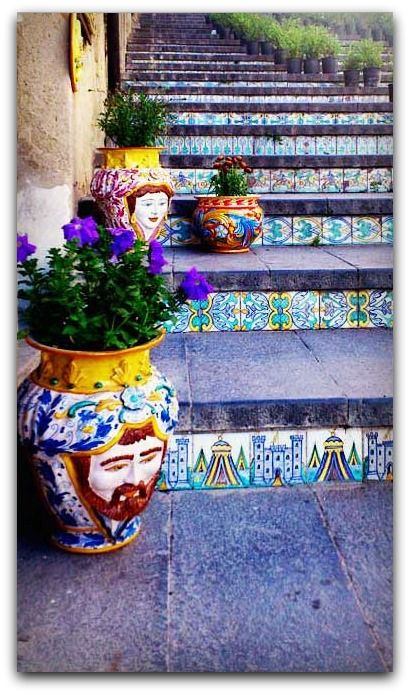 Caltagirone, Sicily - The most beautiful steps and stairs around the world, www.swide.com/photo-gallery/food-travel-photo-gallery/the-most-beautiful-steps-and-stairs-around-the-world/2014/08/09/1-15