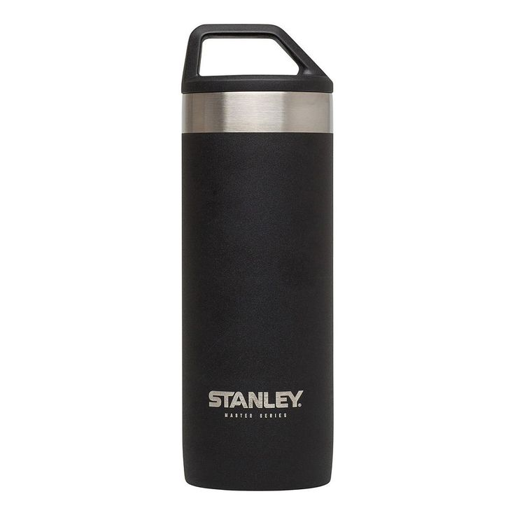Stanley 18-Ounce Vacuum Insulated Mug + Quiksip Combo, Black