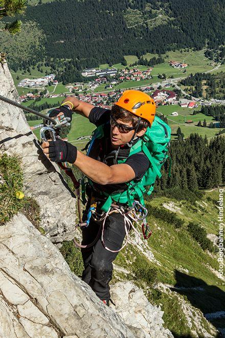 Im Salewa Klettersteig | Foto: Bergbahnen Hindelang