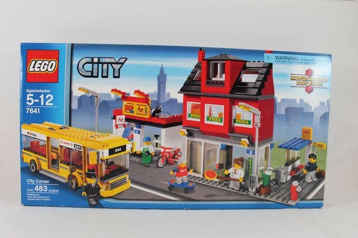 LEGO City Transportation Corner 7641, NIB, Sealed, retired