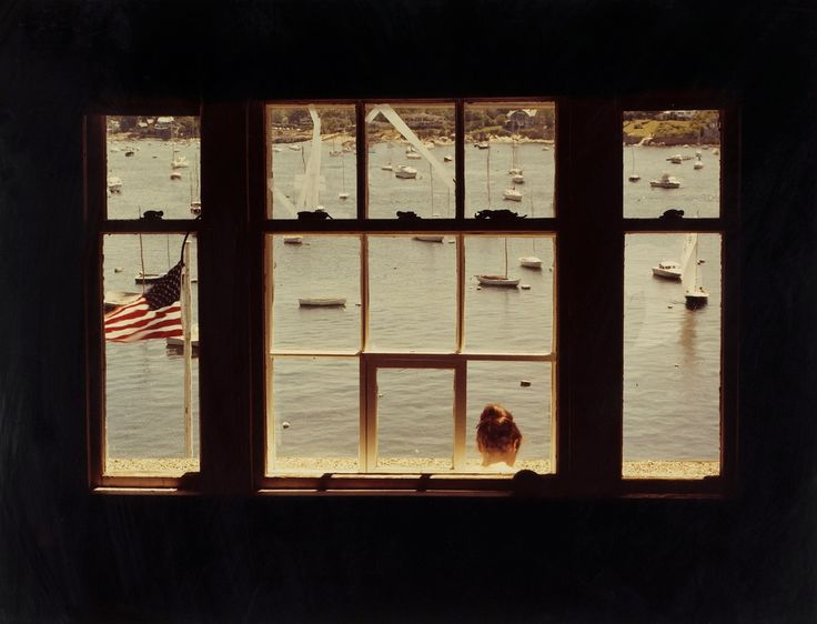 18 Gregory Street, Marblehead, Massachusetts  photo by John Pfahl, 1978