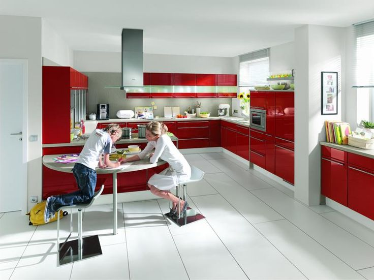 Les 25 meilleures idées de la catégorie Cuisine rouge et gris sur ...