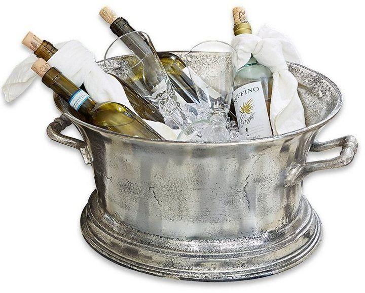 *Werbung* Loberon Sektkühler »Cerisé« - Sektkühler Cerisé Klassisch, luxuriös und einfach umwerfend elegant: Der schwere Flaschenkühler aus massivem Aluguss bezaubert mit zeitlos edler Formgebung, hoher Qualität und feinem Antik-Finish. Ein wahres Schmuckstück, das jeden Tisch adelt. #Küche #Sekt #Sektkühler #Küchenaccessoires #Accessoires