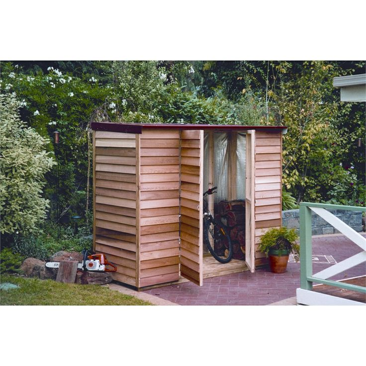 21 best stylish sheds with timber images on pinterest for Narrow storage shed